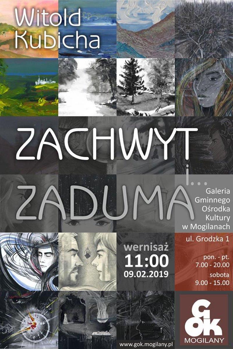 Wystawa Witolda Kubichy w Mogilanach
