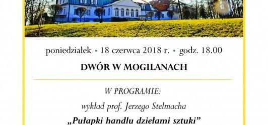 Prof. Jerzy Stelmach w Mogilanach